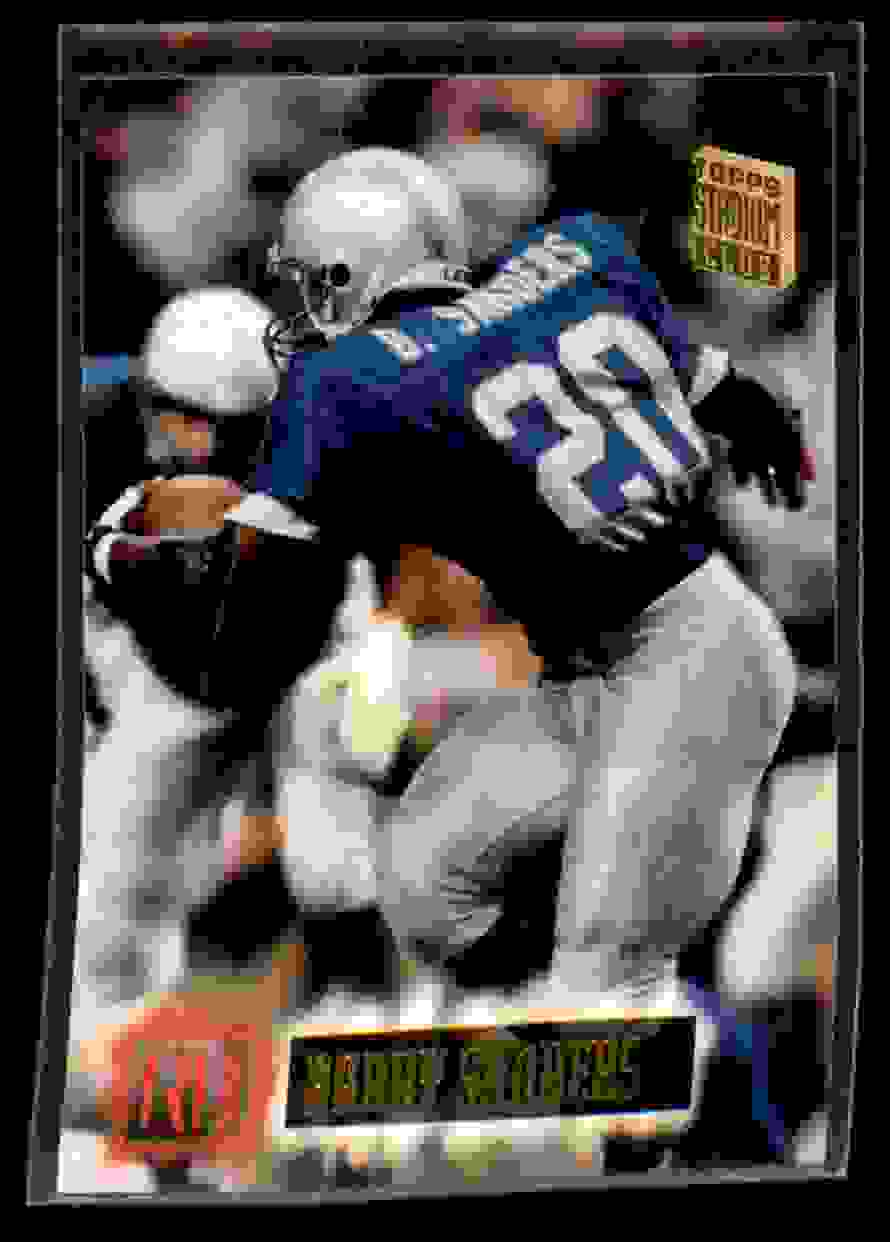 1994 Stadium Club Barry Sanders #580 card front image