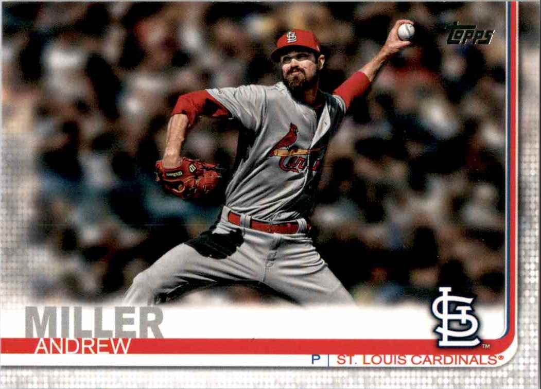 2019 Topps Update Andrew Miller #US166 card front image