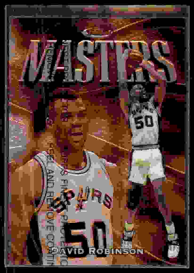 1997-98 Finest David Robinson B #203 card front image