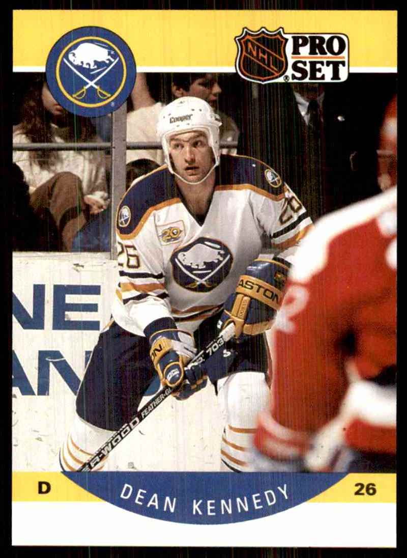 1990-91 Pro Set Dean Kennedy RC #22 card front image