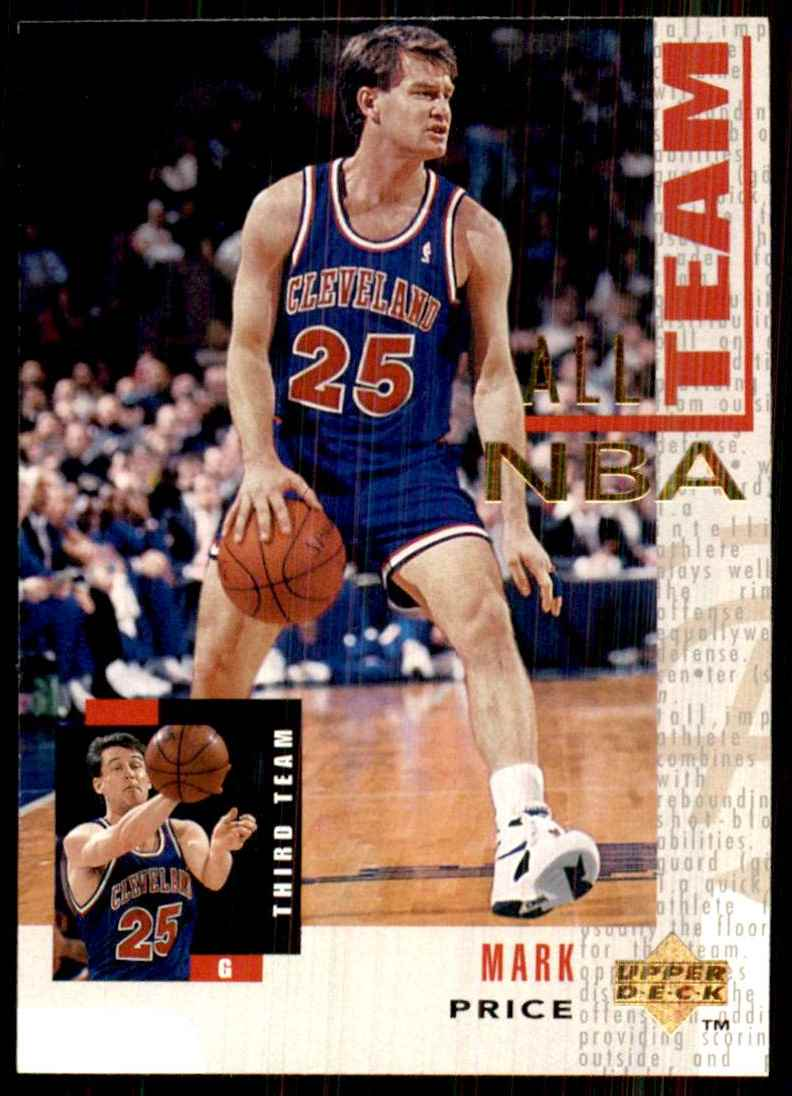 1994-95 Upper Deck Mark Price An #24 card front image