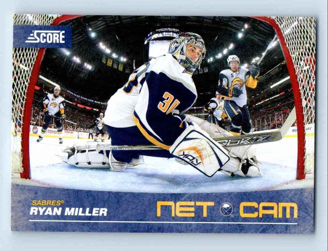 2010-11 Score Net Cam Ryan Miller #1 card front image