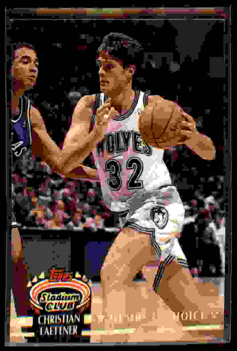 1992-93 Stadium Club Christian Laettner MC #206 card front image