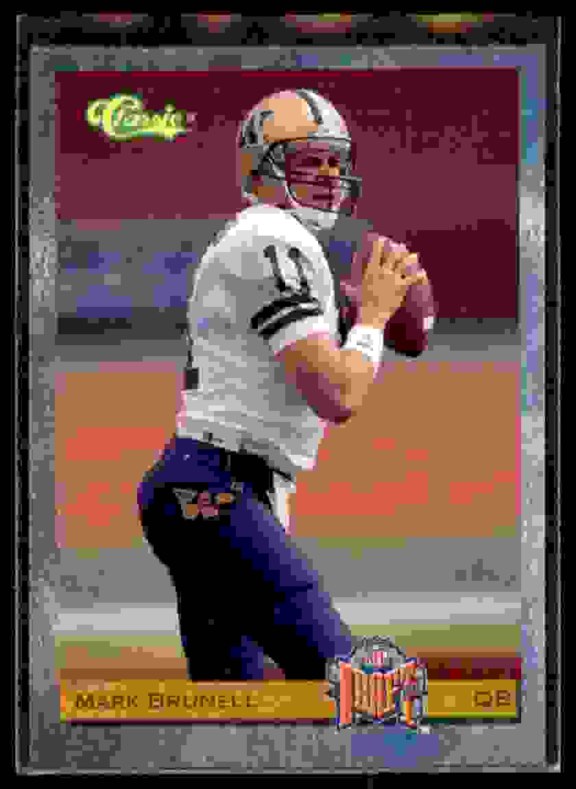 1993 Classic Mark Brunell #88 card front image