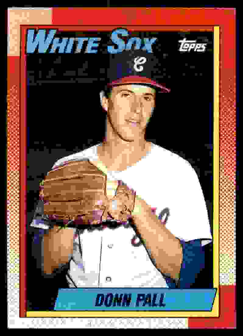 1990 Topps Donn Pall #219 card front image
