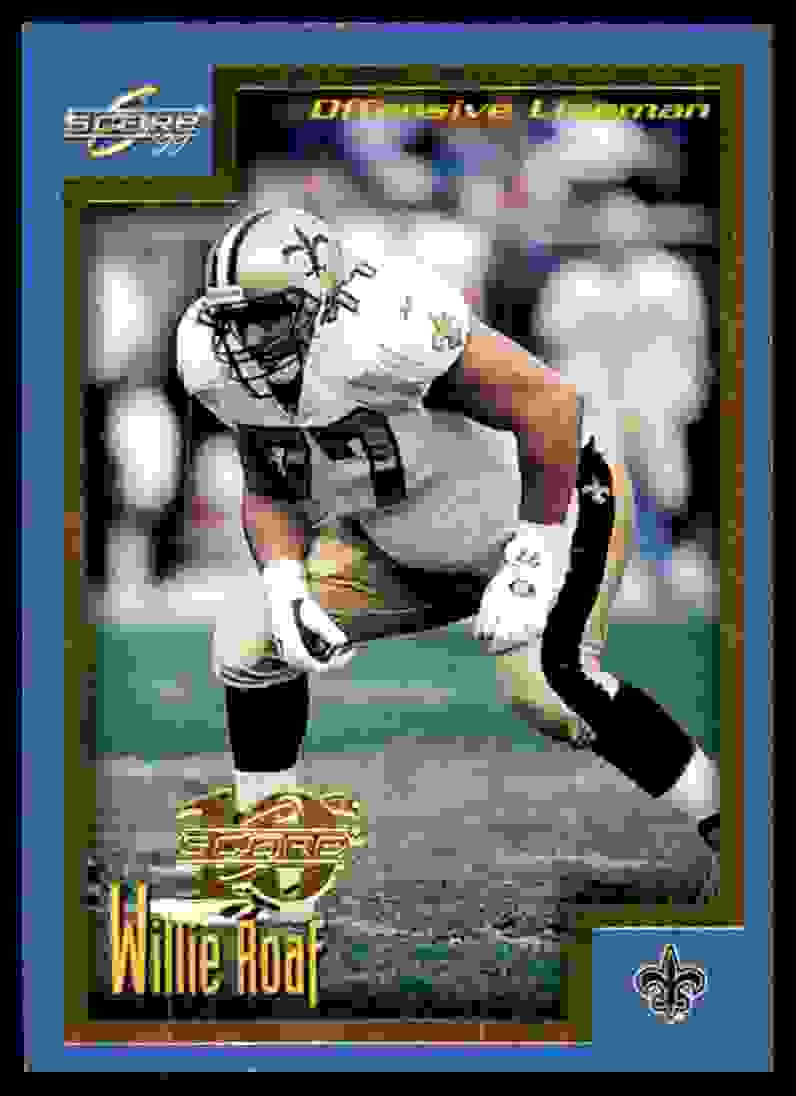 1999 Score Showcase Willie Roaf #88 card front image
