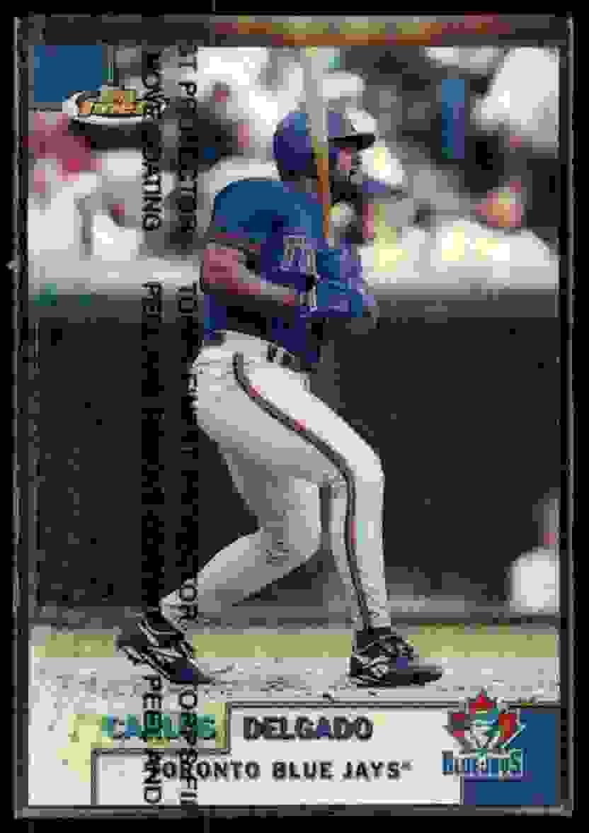 1999 Finest Refractor Carlos Delgado #214 card front image