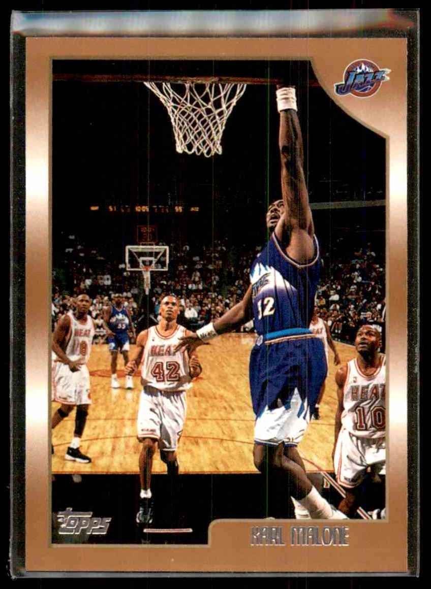 1998-99 Topps Karl Malone #145 card front image