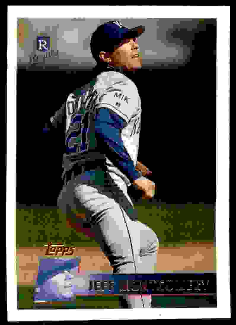 1996 Topps Jeff Montgomery #308 card front image