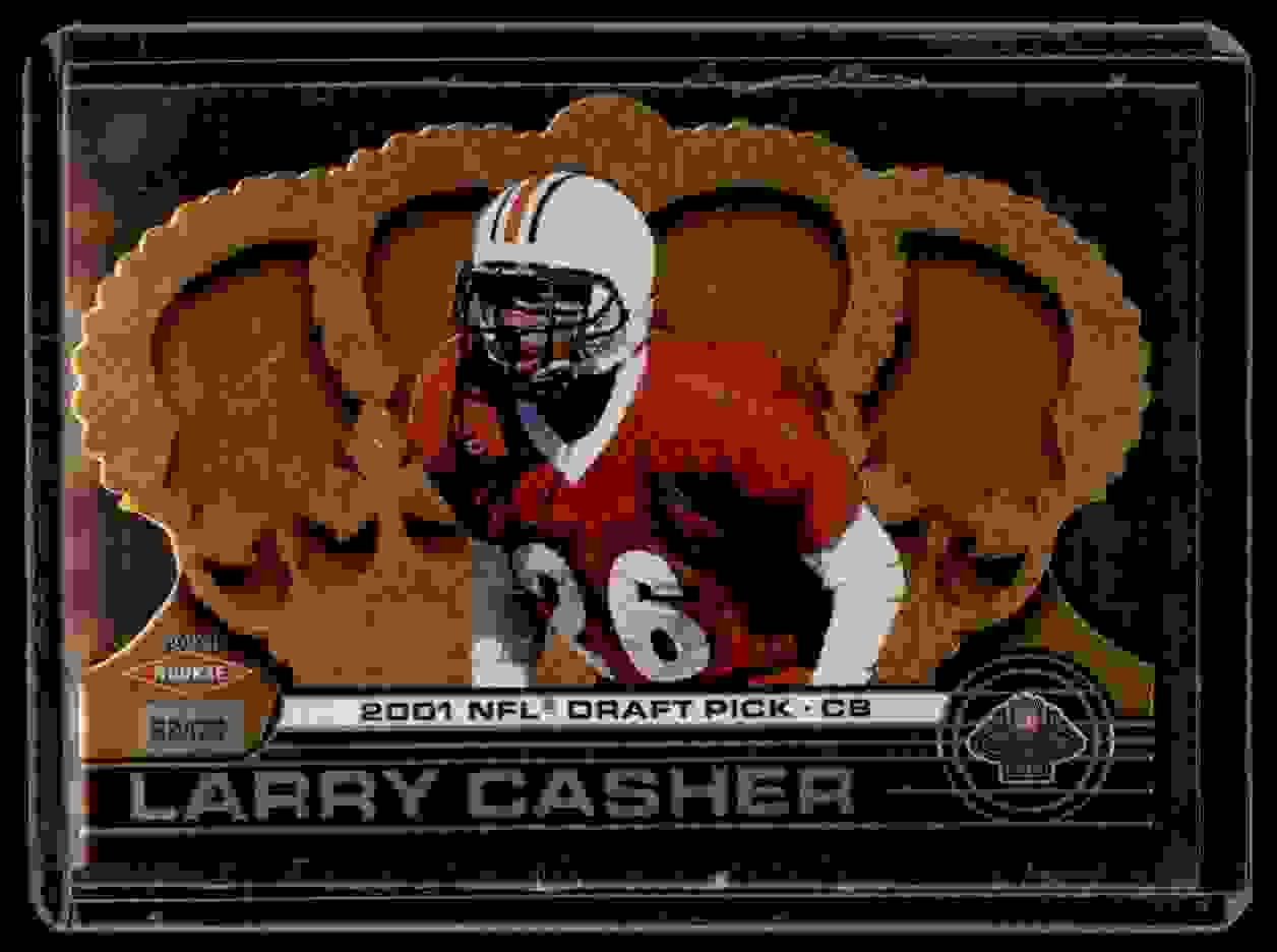 2001 Crown Royale Larry Casher #166 card front image