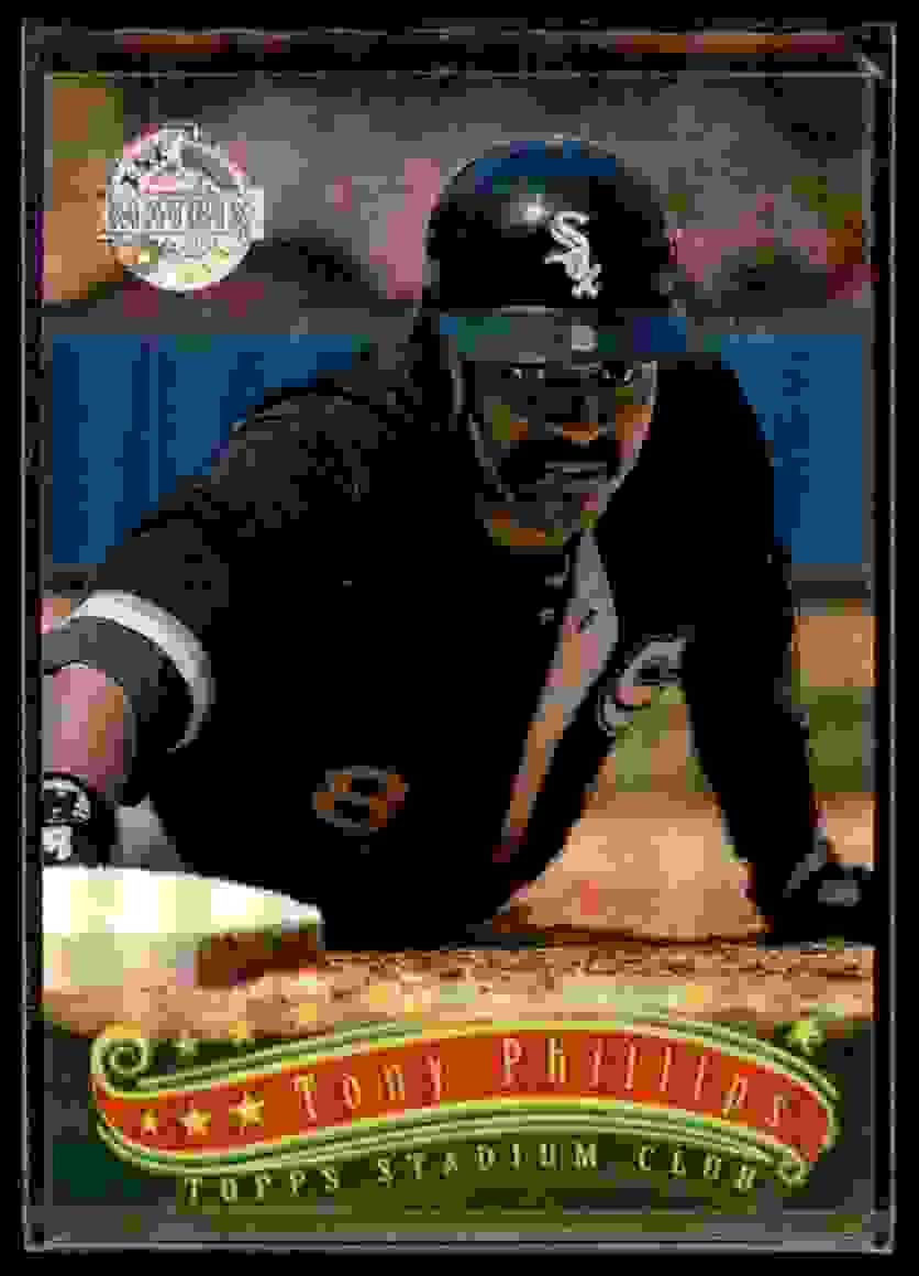 1997 Stadium Club Matrix Tony Phillips #27 card front image