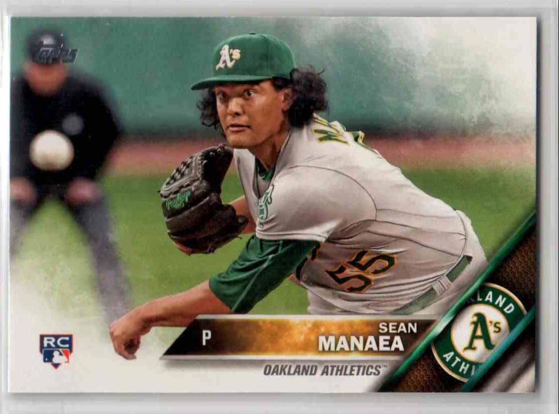 2016 Topps Update Sean Manaea #US13 card front image