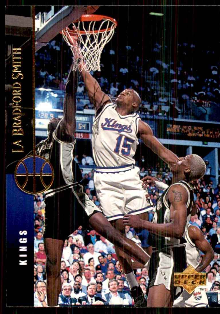 1994-95 Upper Deck LaBradford Smith #45 card front image