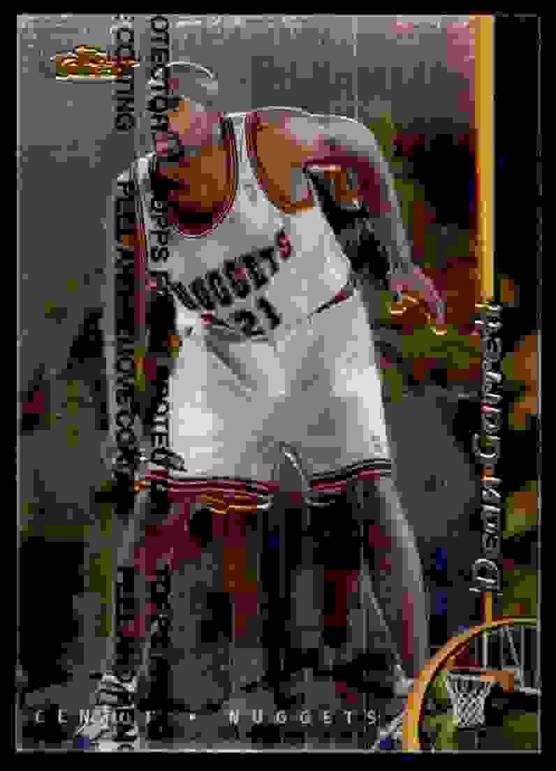 1998-99 Finest Dean Garrett #104 card front image