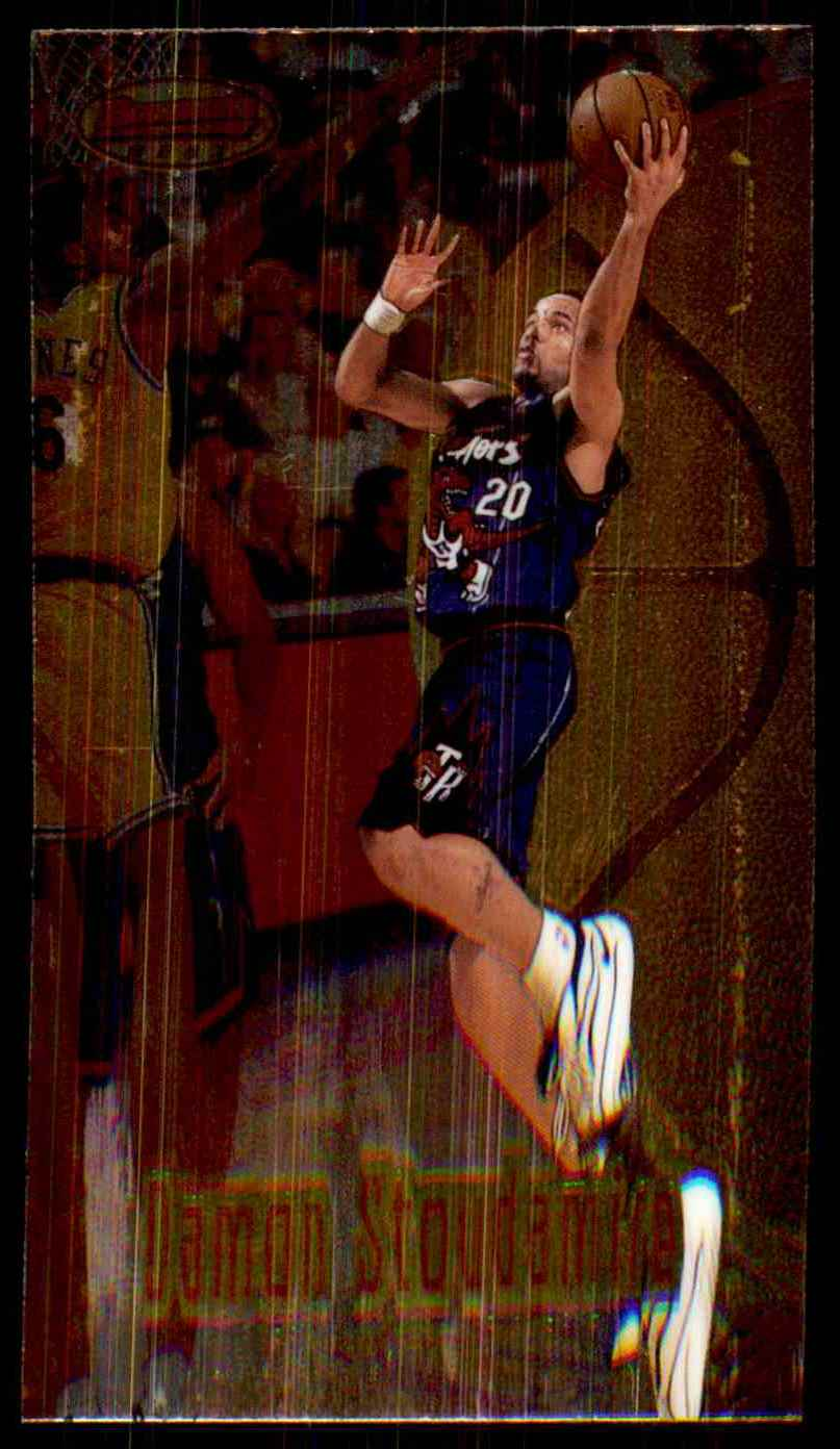 1997-98 Bowman's Best Damon Stoudamire #78 card front image