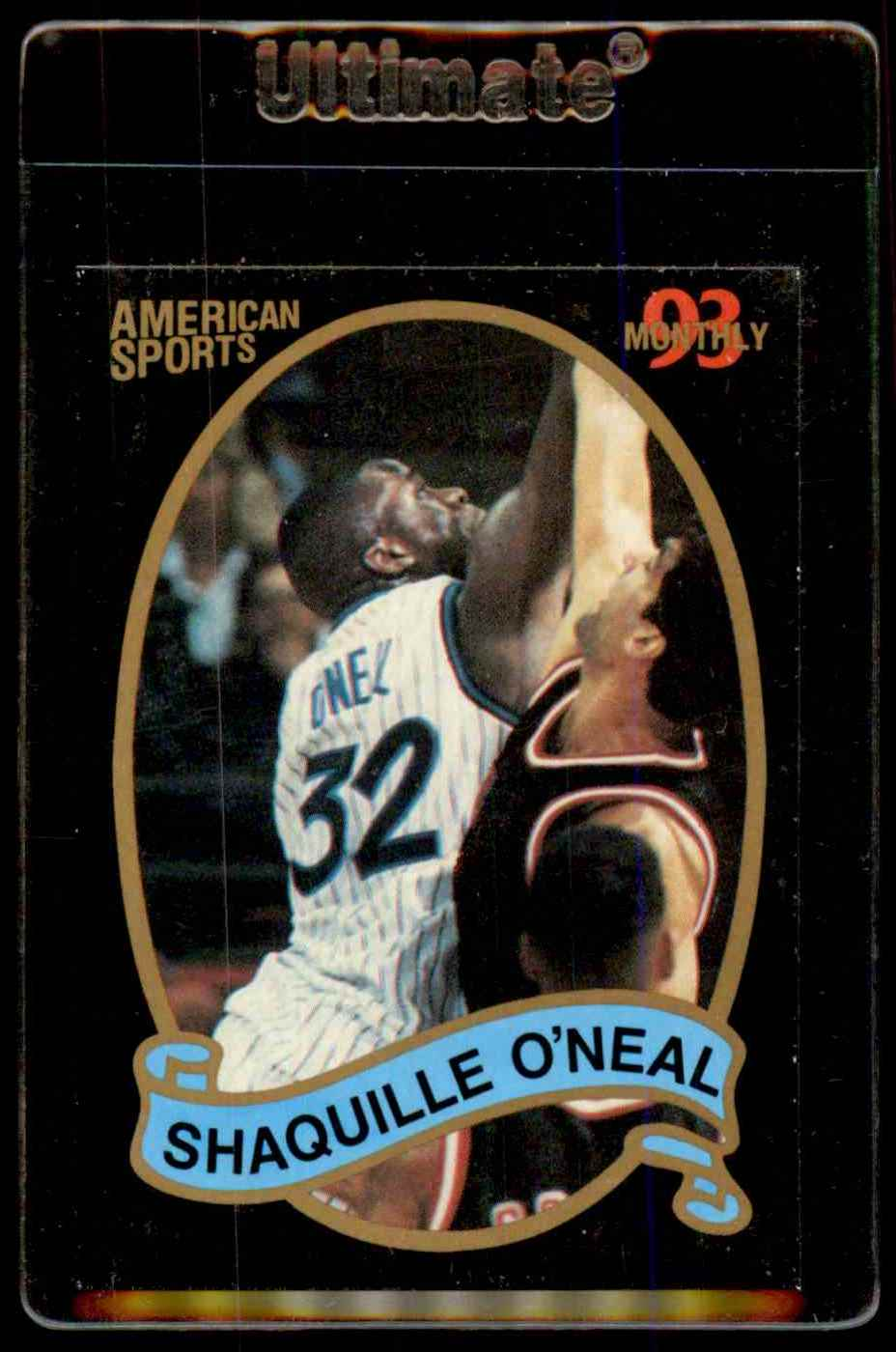 1993-94 American Sports Shaquille O'Neal #NNO card front image