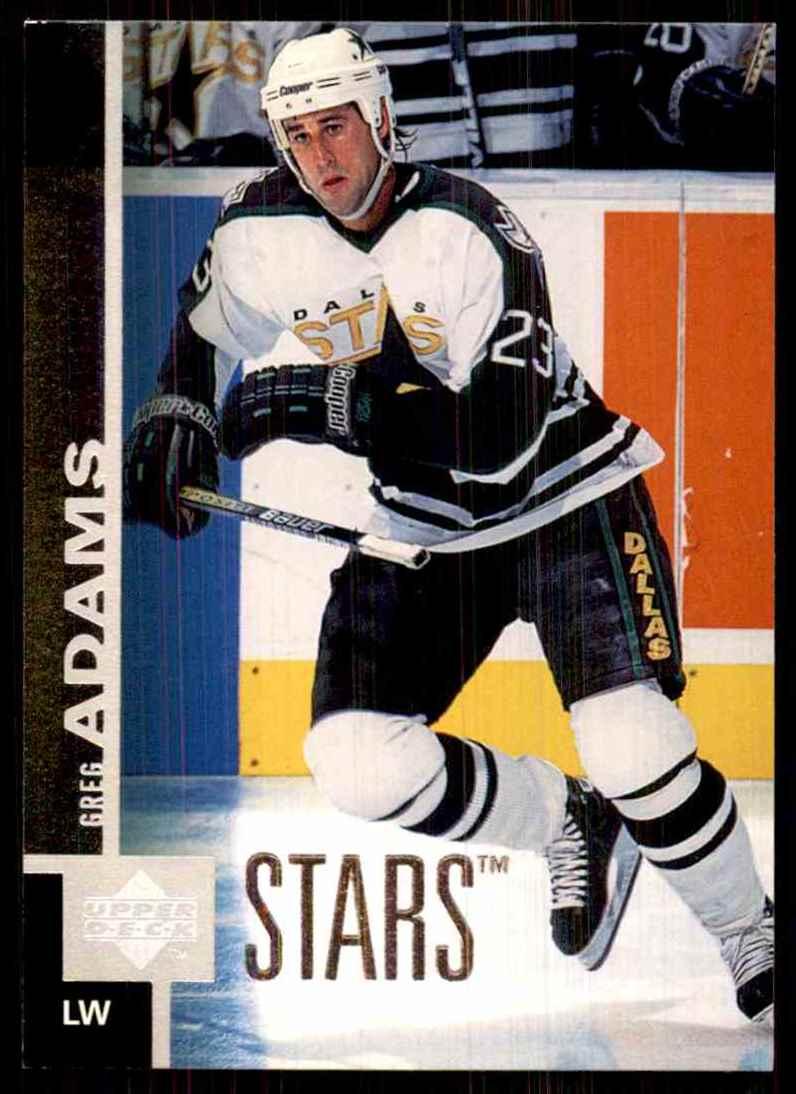 1997-98 Upper Deck Greg Adams #265 card front image