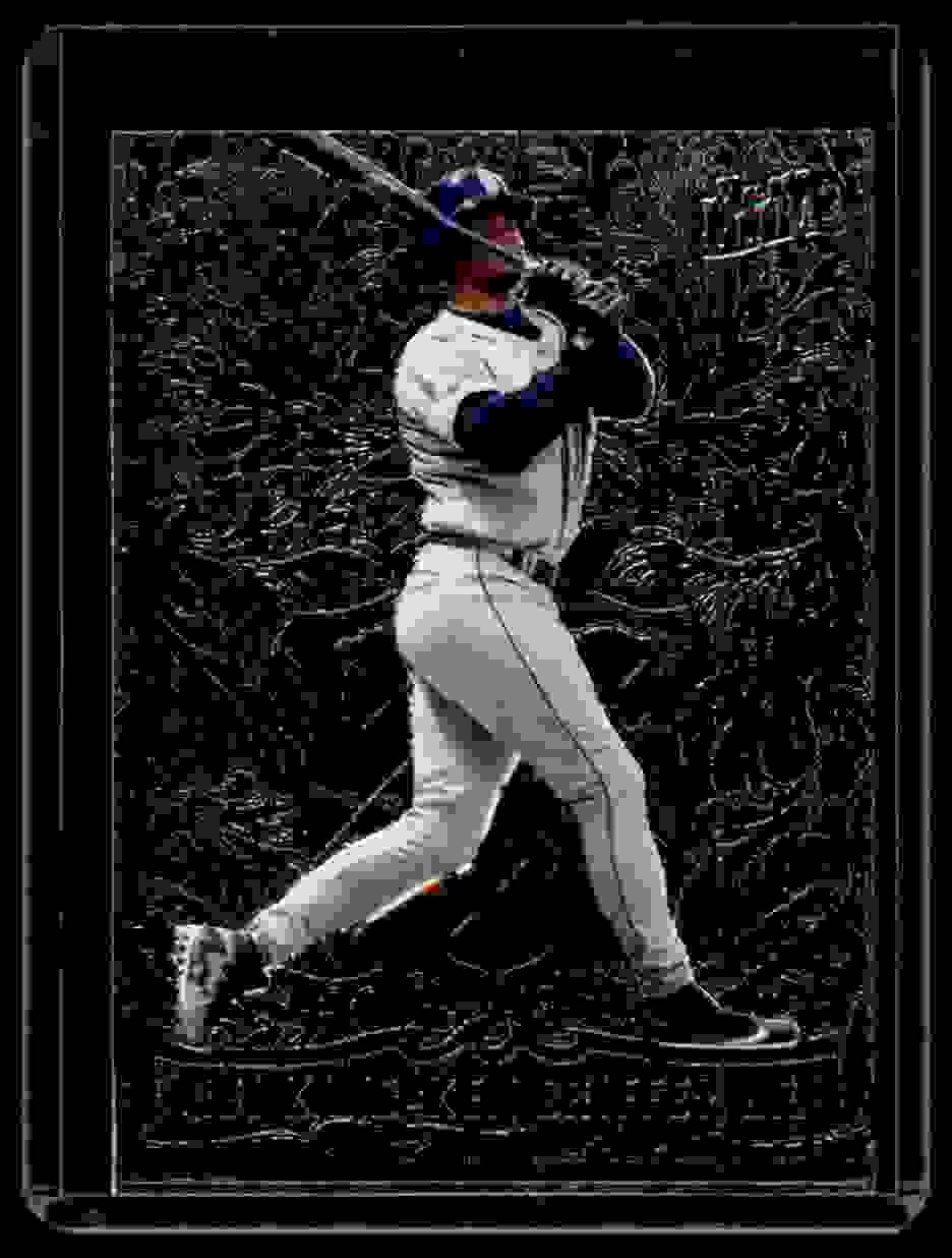1997 Ultra Rbi Kings Ken Griffey JR. #7 card front image