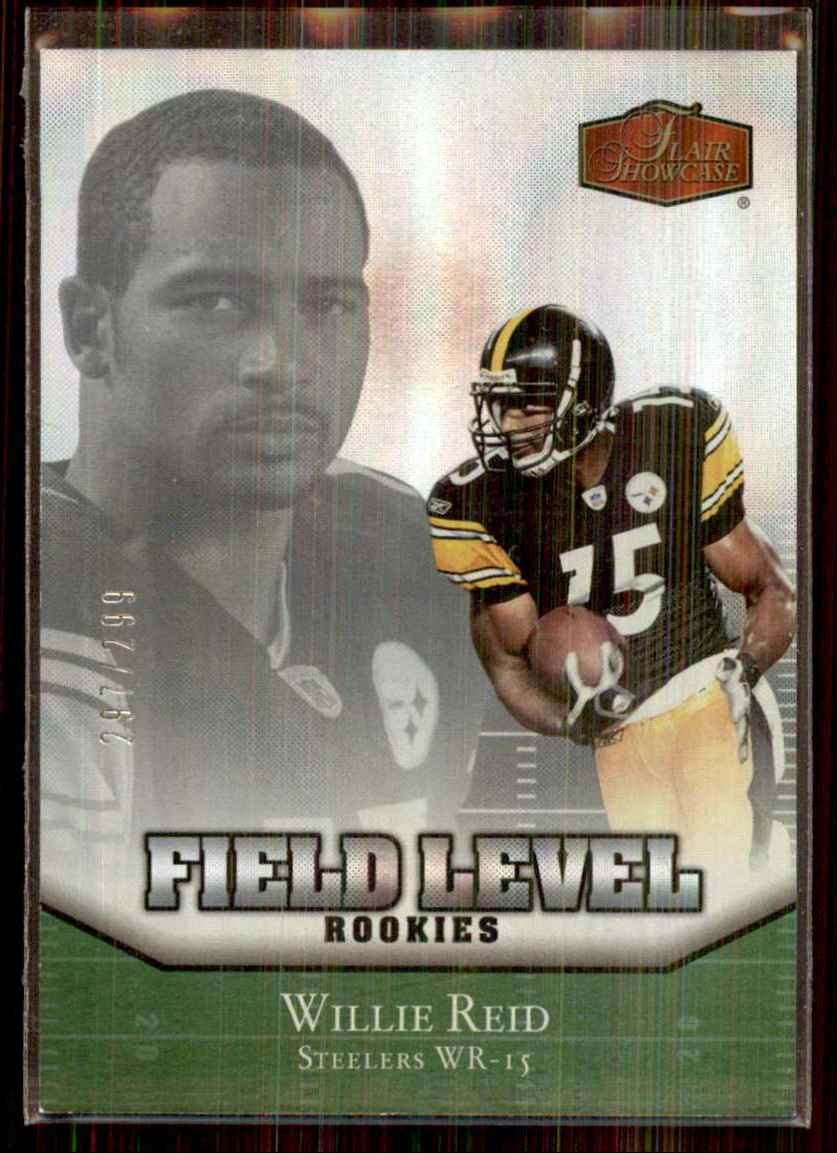 2006 Flair Showcase Willie Reid RC #219 card front image