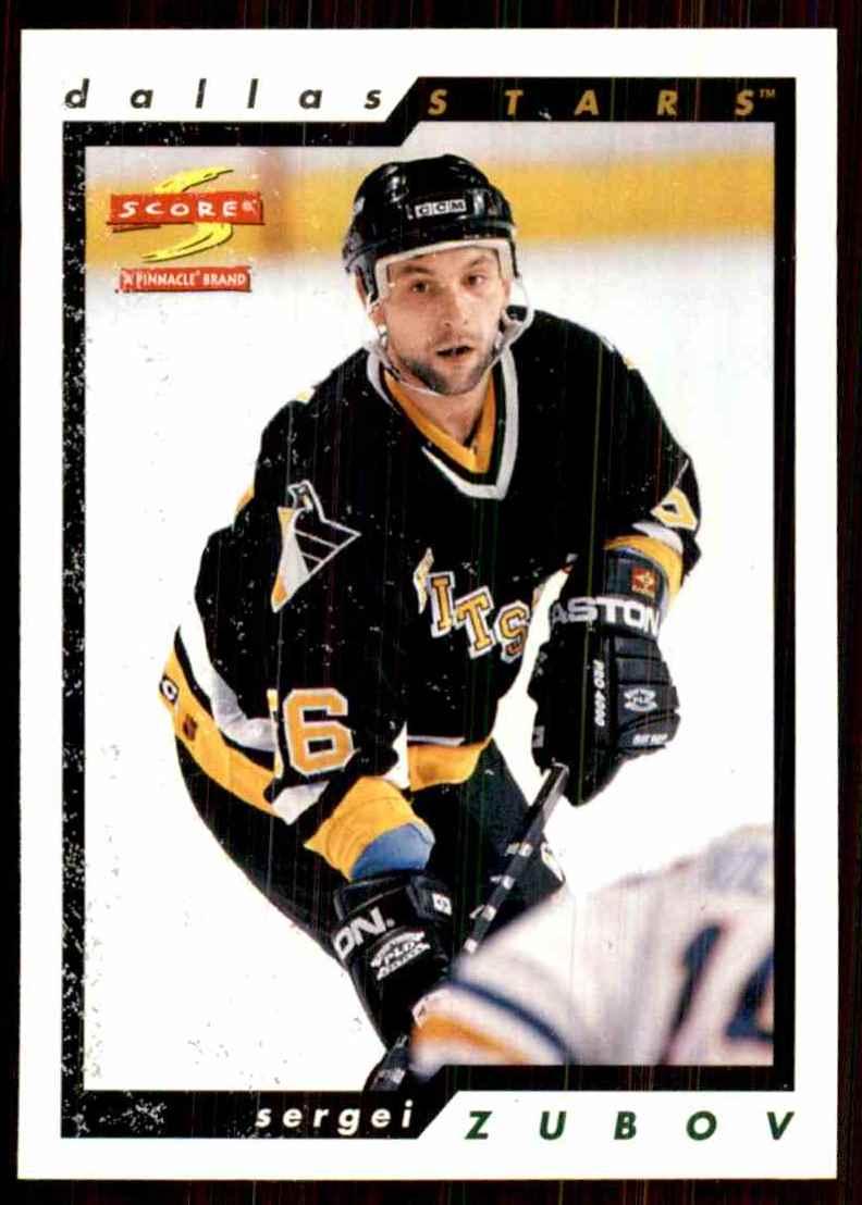 1996-97 Score Sergei Zubov #171 card front image