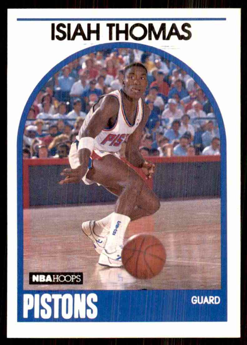 1989-90 Hoops Isiah Thomas #250 card front image