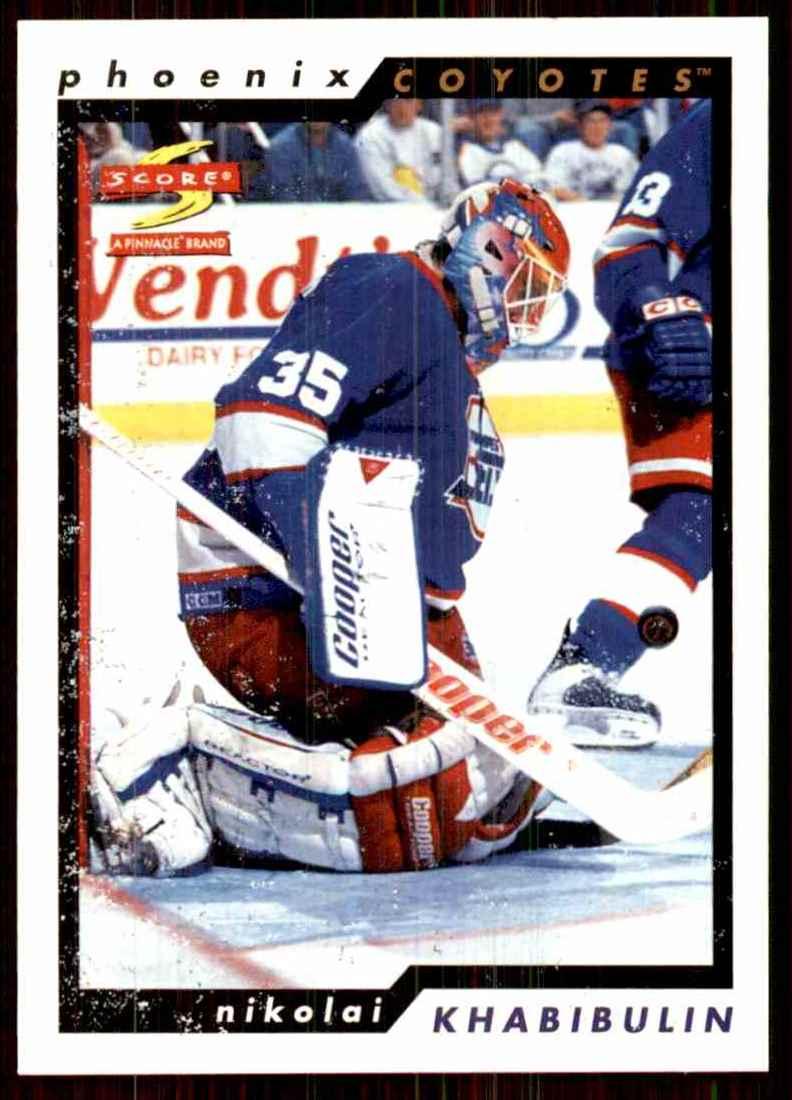 1996-97 Score Nikolai Khabibulin #105 card front image