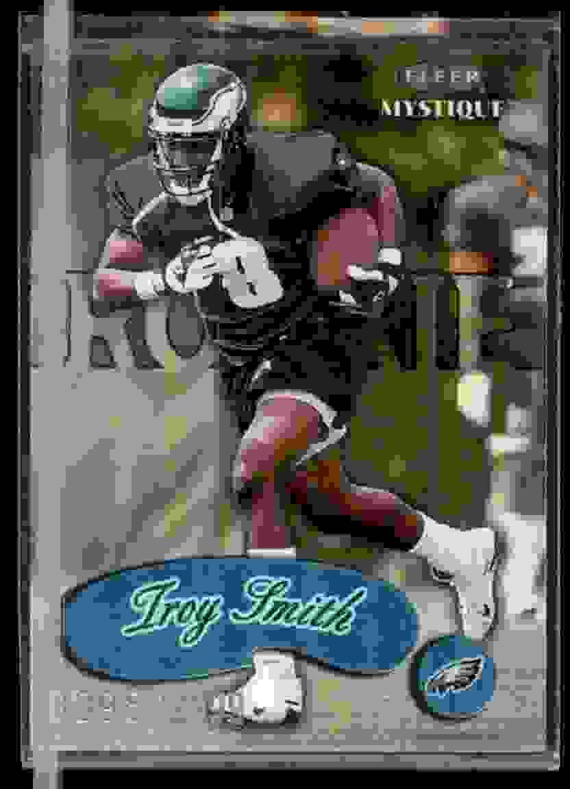 1999 Fleer Mystique Troy Smith #132 card front image