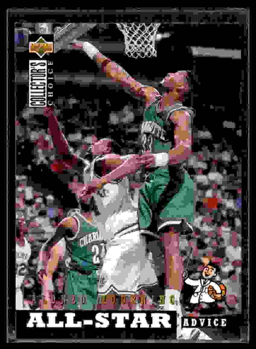 1994-95 Collector's Choice Alonzo Mourning #194 card front image