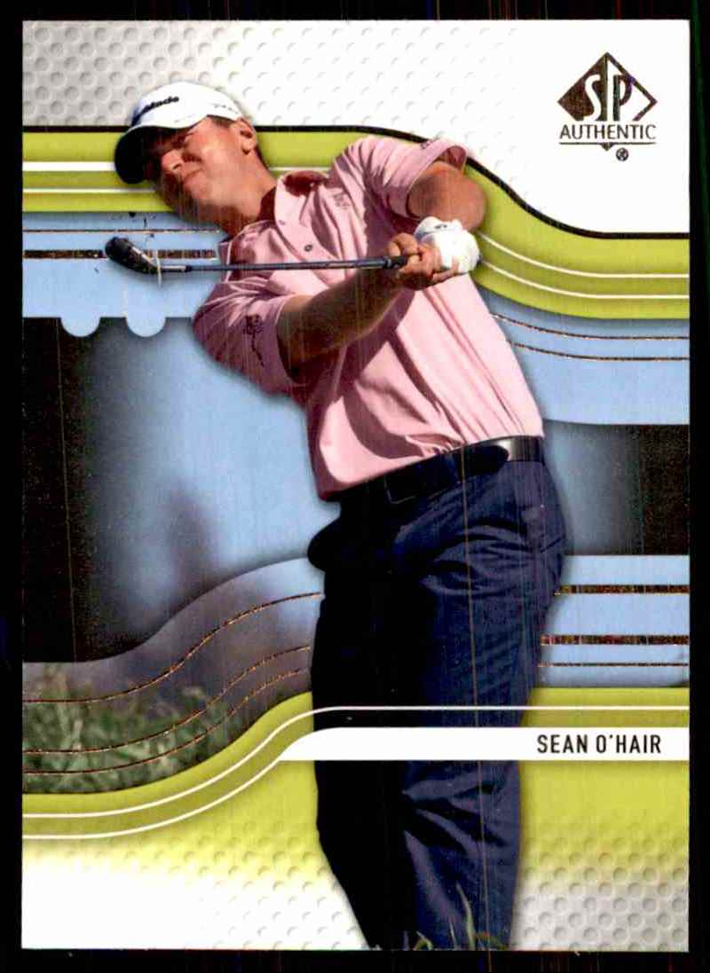 2012 SP Authentic Sean O'Hair #48 card front image