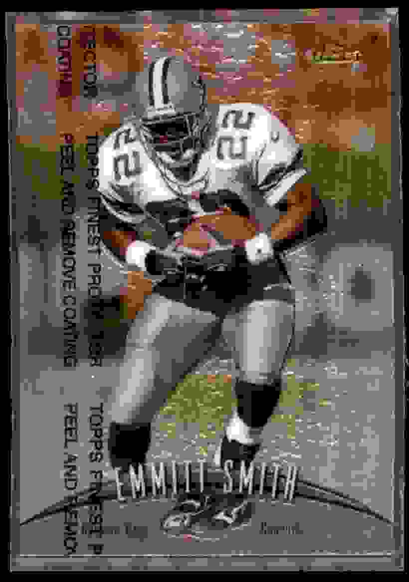 1998 Finest Emmitt Smith #160 card front image