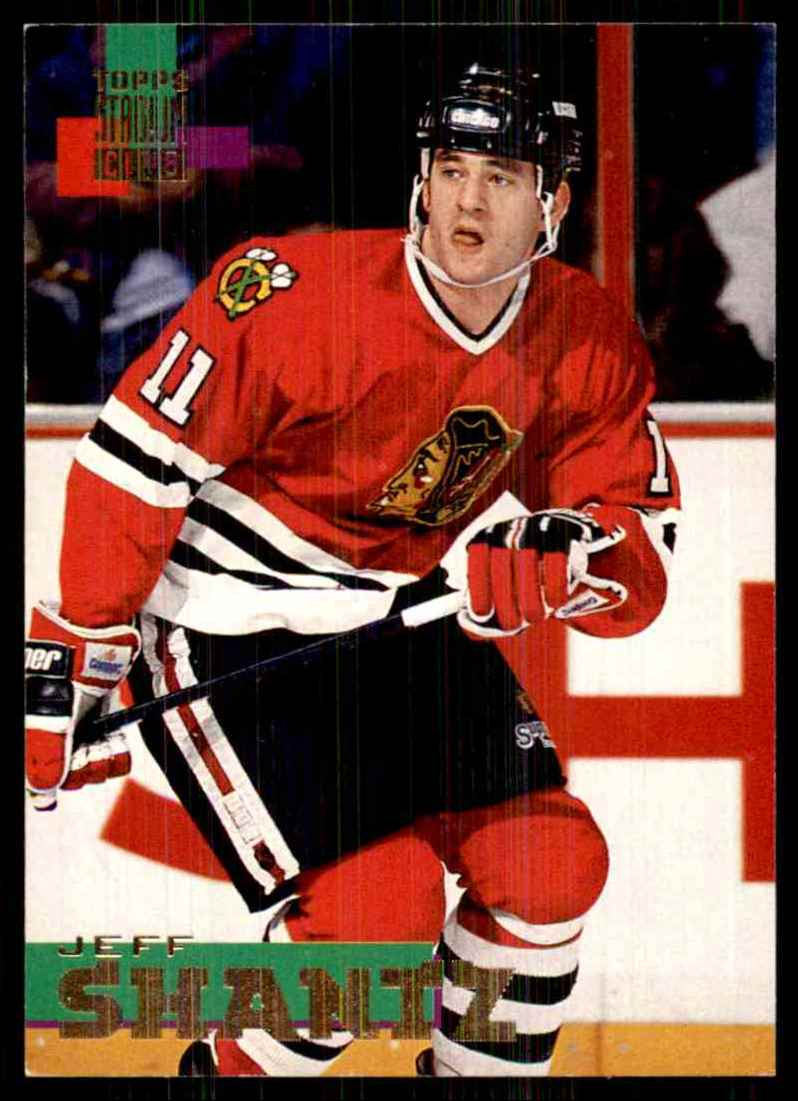1994-95 Stadium Club Jeff Shantz #92 card front image