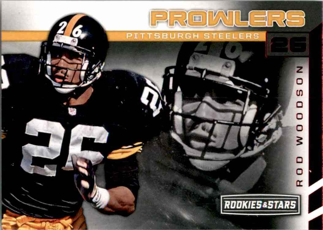 2017 Rookies And Stars Prowlers Rod Woodson #7 card front image