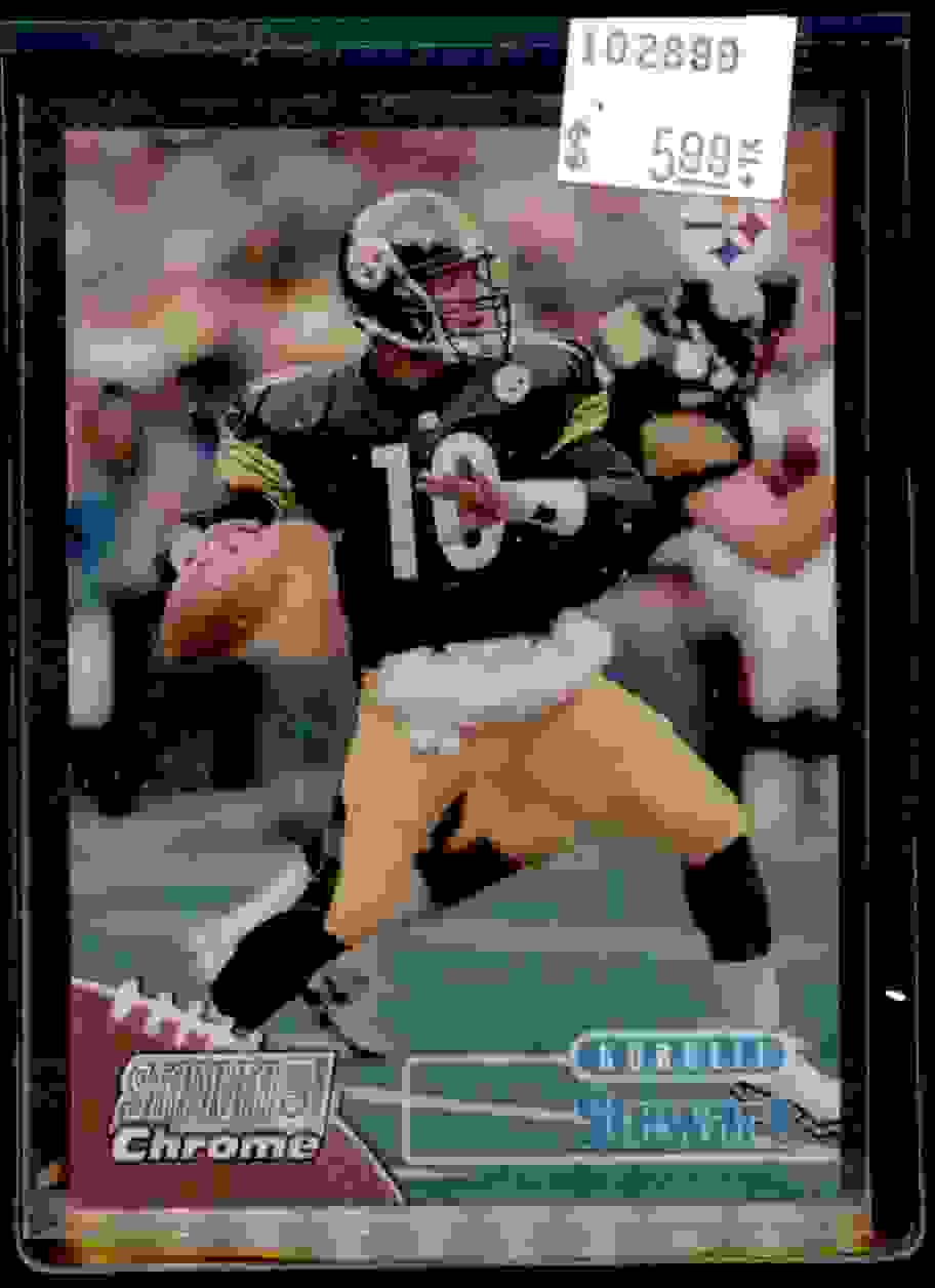 1998 Stadium Club Chrome Refractor Kordell Stewart #SCC9 card front image