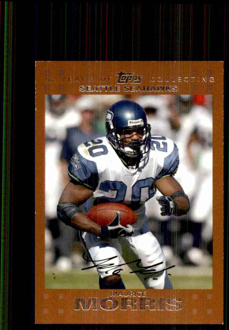 2007 Topps Copper Maurice Morris #103 card front image