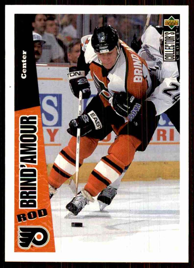 1996-97 Collector's Choice Rod Brind'Amour #192 card front image