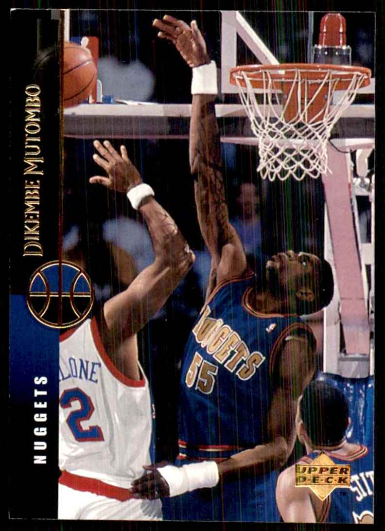 1994-95 Upper Deck Dikembe Mutombo #132 card front image