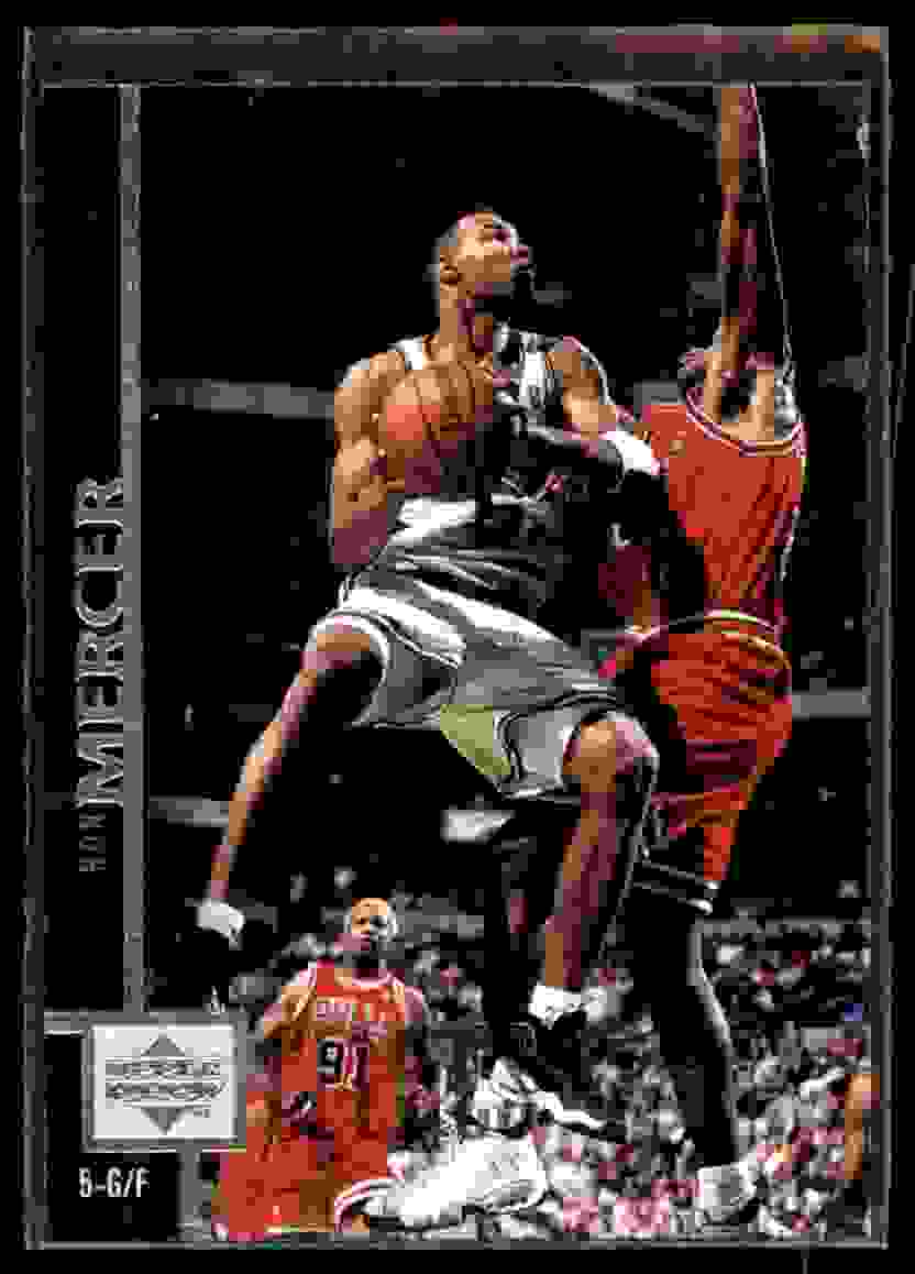 1997-98 Upper Deck Ron Mercer RC #188 card front image