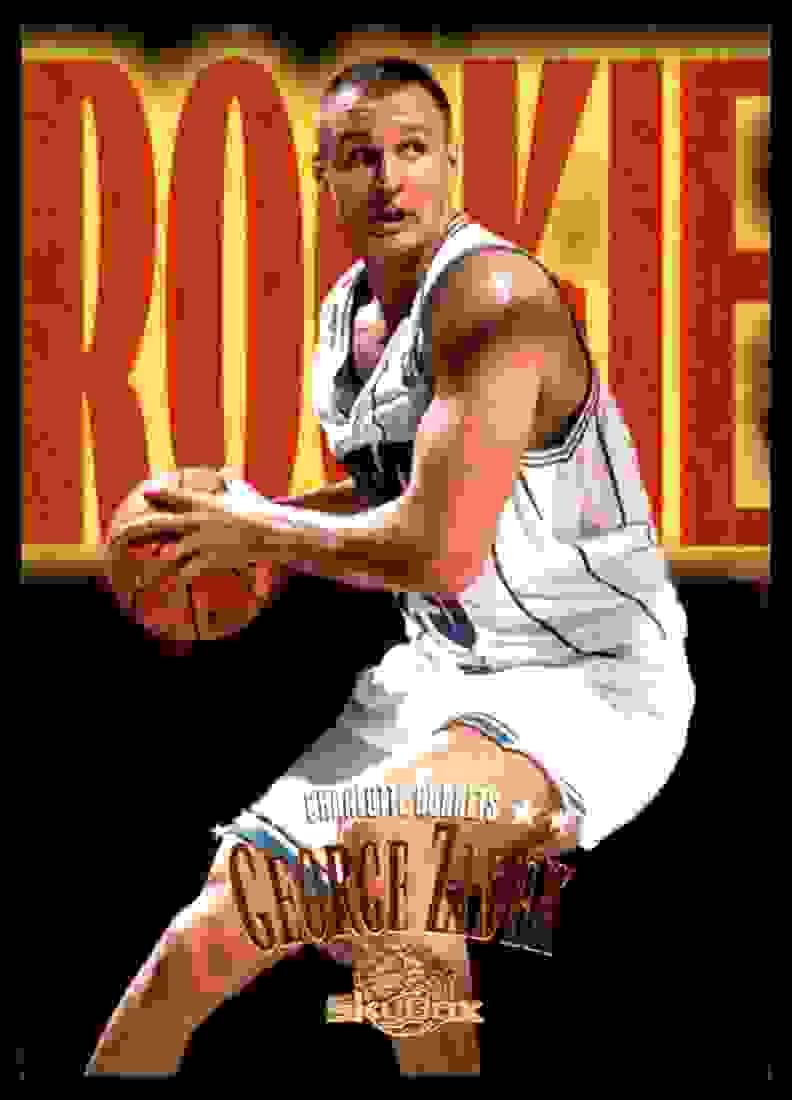 1995-96 Skybox Premium George Zidek RC #221 card front image