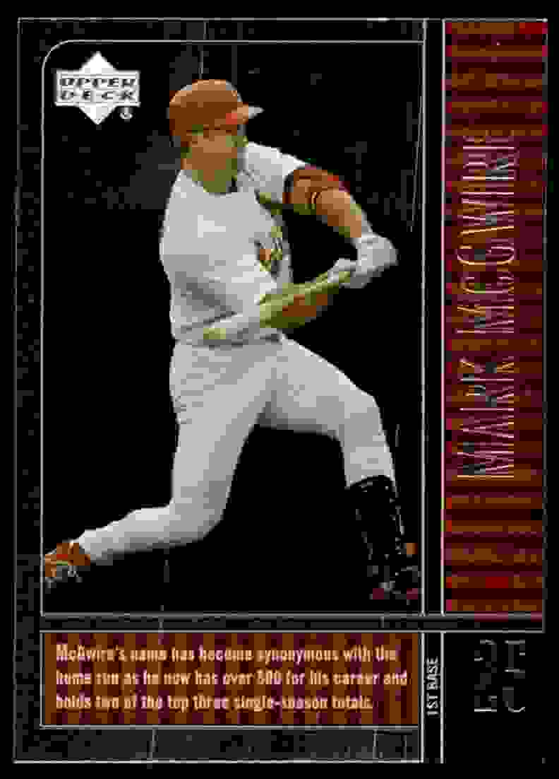 2000 Upper Deck Legends Mark McGwire #23 card front image