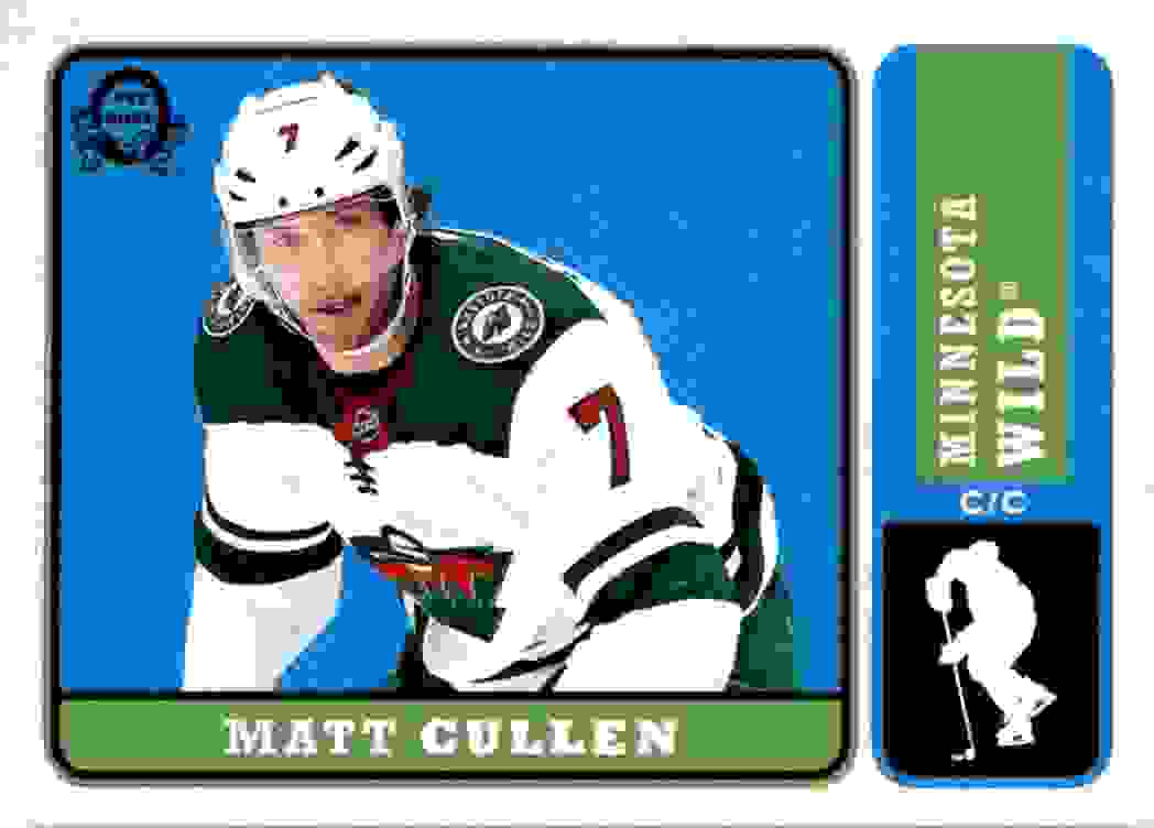 2018-19 O-Pee-Chee Retro Matt Cullen #413 card front image