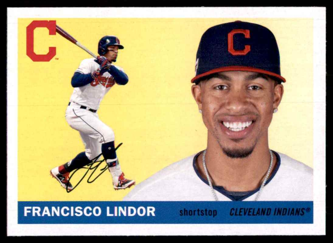 2020 Topps Archives Francisco Lindor #23 card front image