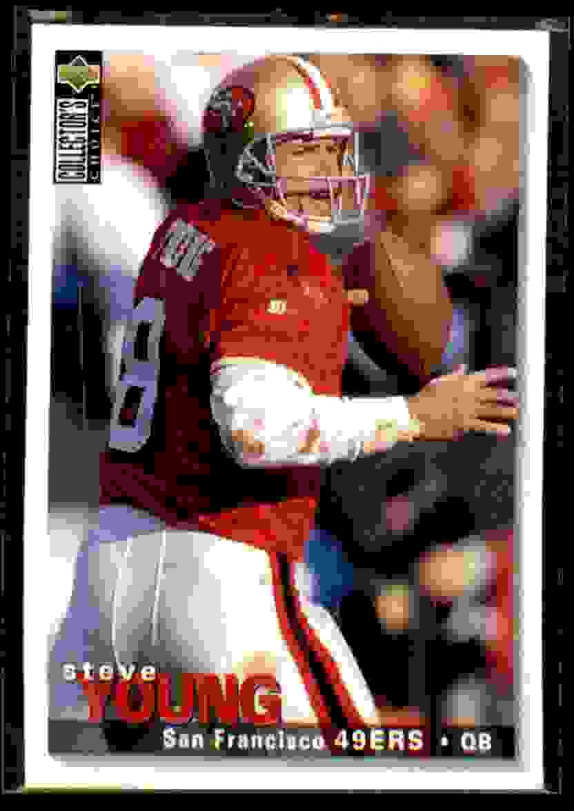 1995 Collector's Choice Steve Young #162 card front image