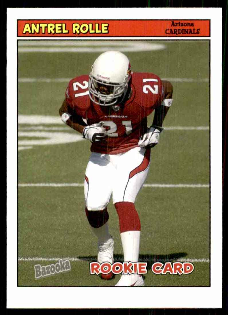 2005 Bazooka Antrel Rolle RC #192 card front image