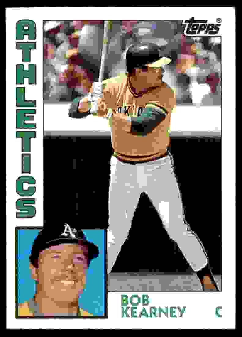1984 Topps Bob Kearney #326 card front image