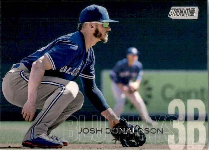 2018 Stadium Club Josh Donaldson #219 card front image