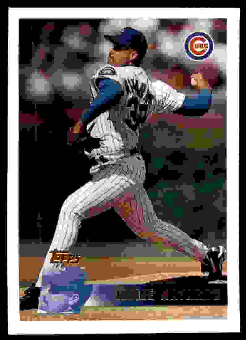 1996 Topps Jaime Navarro #381 card front image