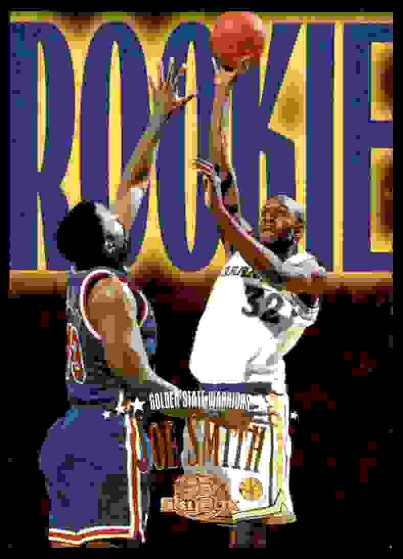1995-96 Skybox Premium Joe Smith RC #227 card front image
