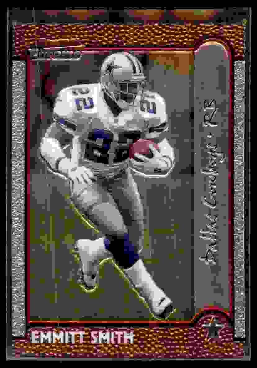1999 Bowman Chrome Emmitt Smith #40 card front image