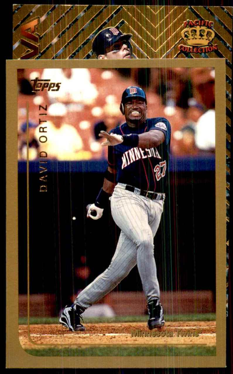 1999 Topps David Ortiz #291 card front image