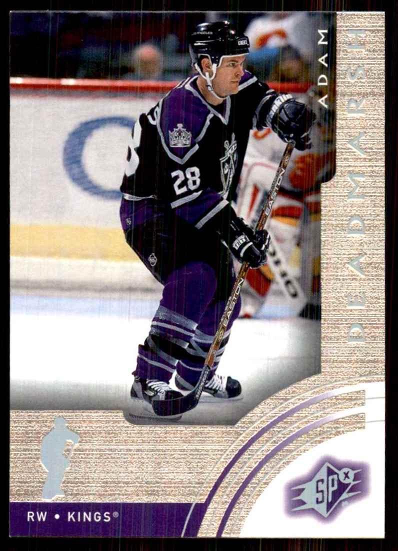 2001-02 SPx Adam Deadmarsh #32 card front image